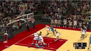 Gaming Live Retro NBA 2K13 : Knicks vs Rockets (1994) - HD