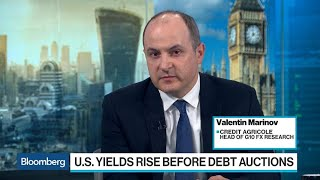 Credit Agricole's Marinov Expects Treasury Yields to Rise Even Further