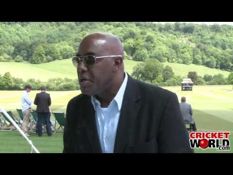 Cricket World® TV - Ainsley Harriott Interview