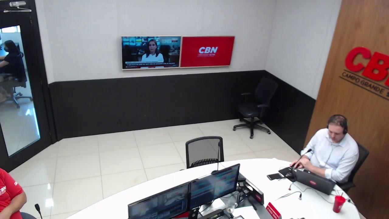 CBN Campo Grande (22/10/2020) - com Ginez Cesar