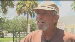 Homeless man in North Fort Myers catches burglars in the act