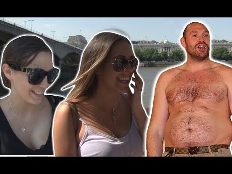 Girls React To Anthony Joshua v Tyson Fury