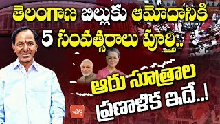 Five Years Completed for Telangana Bill Passed in Parliament and Rajya Sabha | YOYO TV Channel