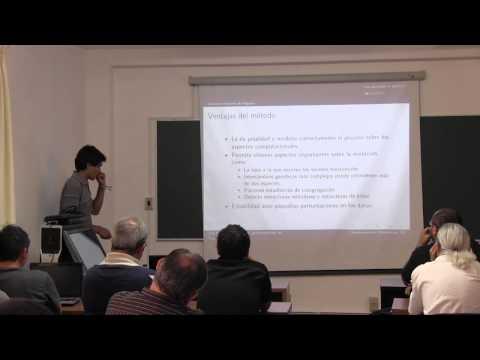 """Conferencia """"TDA y genética"""", José María Ibarra Rodríguez"""