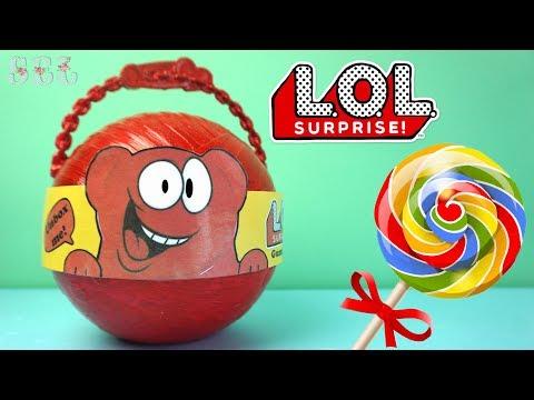 ЛОЛ Сюрприз ЖЕЛЕЙНЫЙ МЕДВЕДЬ Custom LOL Surprise Gummy Bear