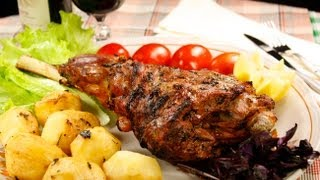 видео Баранина в фольге, запеченная в духовке: пошаговый рецепт с фото