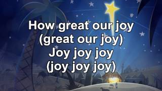 How Great Our Joy - Instrumental with Lyrics (no vocals)