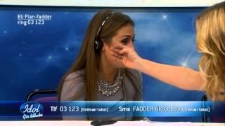 Her bryter Tone Damli Aaberge ut i gråt i «Idol gir tilbake» for Plan Norge