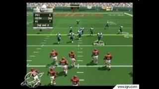 NFL GameDay 2002 PlayStation 2 Gameplay_2001_11_27_2