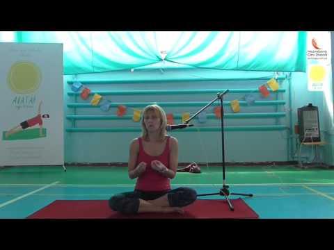 Йогамарафон от Avatar Yoga Festival в Днепре Валентина Малиновская лекция