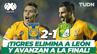 ¡Muy fieras! Tigres derrota a León en Semifinales | Tigres 2-1 León AP-2016 | TUDN