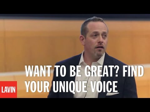 Daniel Lerner: Want to Be Great? Find Your Unique Voice