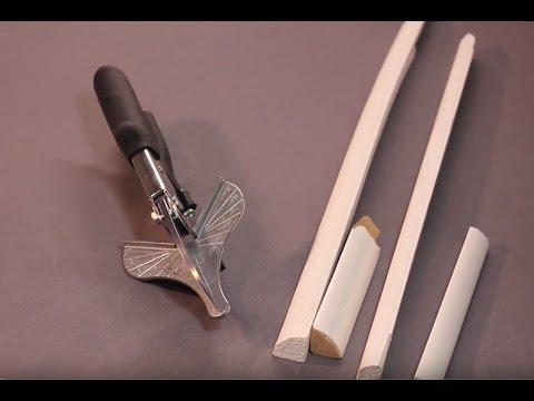 Black Rhino Vigor Sheers Cut Trim Shoe Molding Quarter Round Pine Composite Time Saver HD 1080P