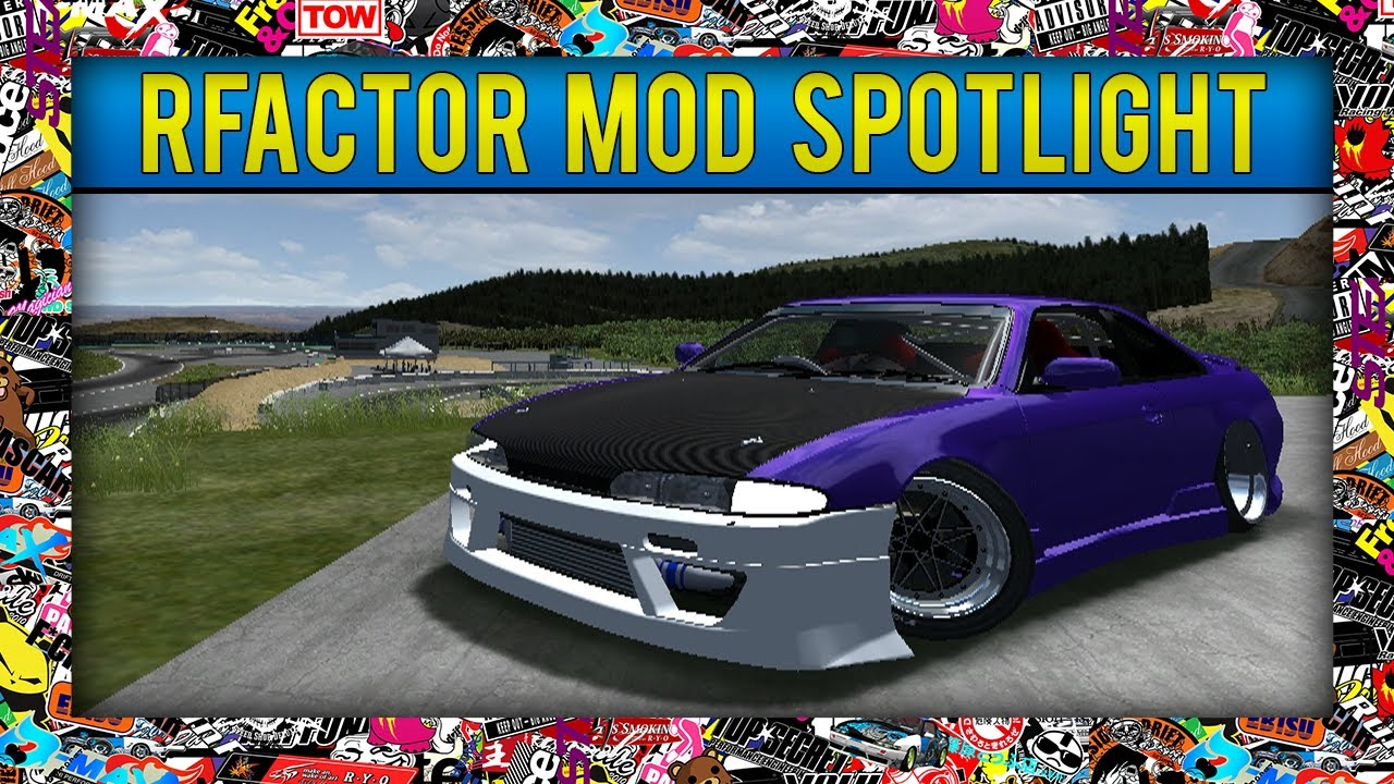 rFactor - Mod Spot Light - S14 with a Bumper from STuner!
