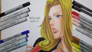 Drawing Rangiku Matsumoto - Bleach