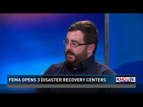 FEMA opens three disaster recovery centers after Harvey