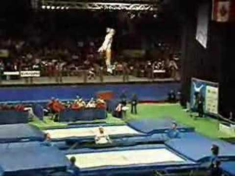 Trampoline Worlds 2007 - Irina Karavaeva (RUS) Final