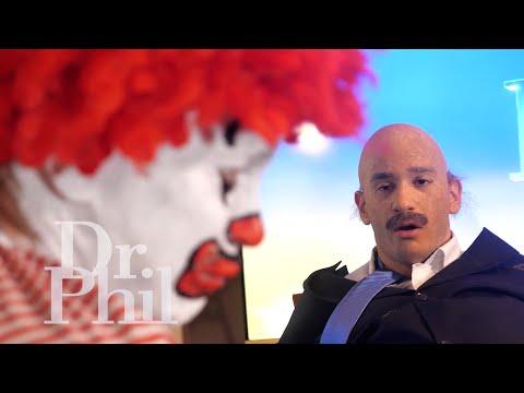 Ronald Mcdonald meets Dr. Phil