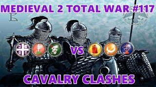 Medieval 2 Total War #117 3vs3 Byzantine Empire Cavalry Clashes