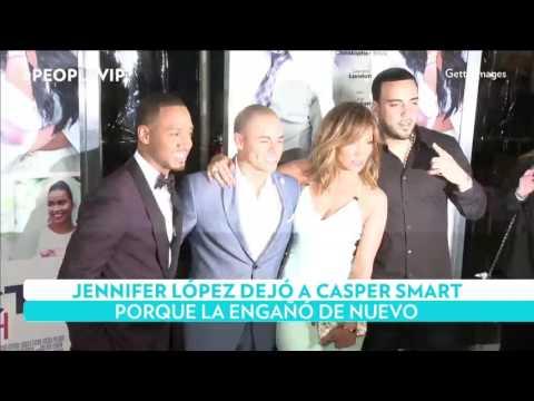 Jennifer López y Casper Smart habrían terminado por las infidelidades del bailarín