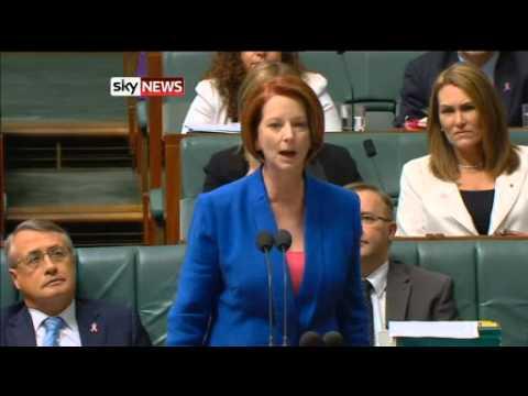 Julia Gillard Accuses Tony Abbott Of Sexism