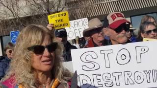 Tribal Delegates to BLM - Enough! Stop Chaco Sale! Clip 4