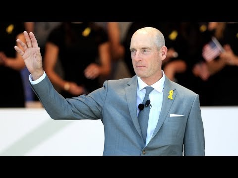 Jim Furyk's opening ceremony speech at the 2018 Ryder Cup ...