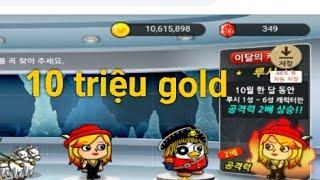 [El Dorado Naver] Nâng cấp hết 10 triệu vàng