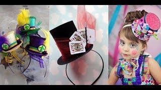 Sombrero y diadema: tutorial
