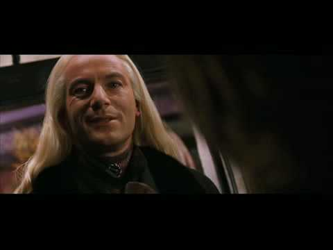 Lucius Malfoy's First Appearance! HP 2 Clip!