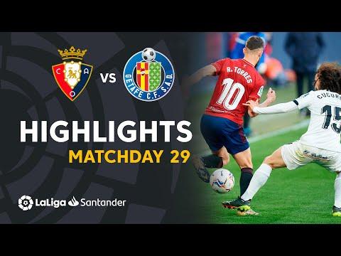 Osasuna Getafe Goals And Highlights