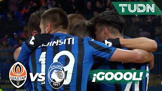 ¡Hay milagro para Atalanta! | Shaktar Donetsk 0 - 2 Atalanta | Champions League  J6 - Grupo C | TUDN