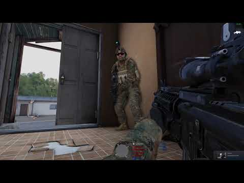[ArmA 3] Cat Tactical - Hiding In 2 Houses