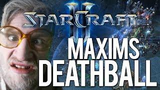 Maxims Deathball | Starcraft 2 gegen Maxim bei der RTS-Olympiade Game 2