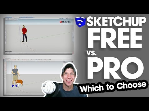 SketchUp FREE VS SHOP VS PRO - Which One Should You Choose?