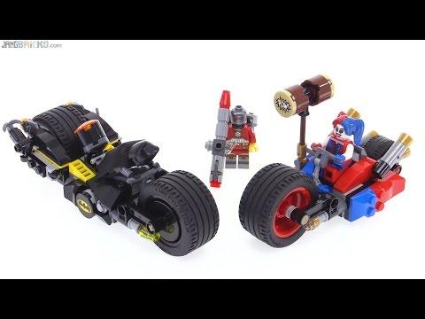 LEGO Gotham City Cycle Chase review Batman v Harley Quinn & Deadshot 76053