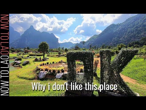 Vang Vieng Laos | S.E.Asia's Most Popular Adventure Travel Destination | Now to Lao in Vang Vieng