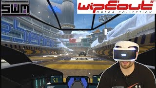 Wipeout HD VR! Stomach Turning High Speed Racing | Spawn Wave Plays!