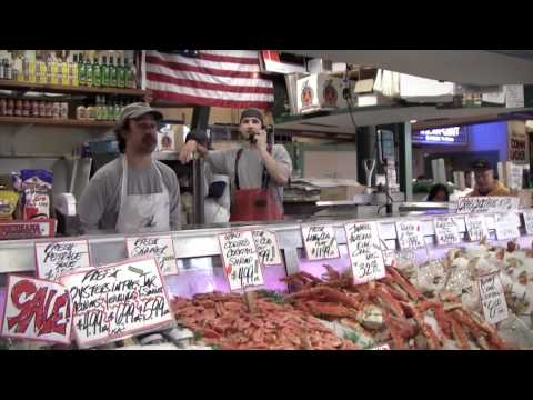 Seattle Pike Place Fish Market