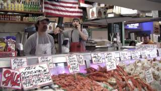 Seattle Pike Place Fish Market