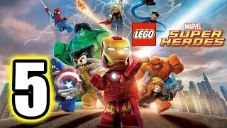 LEGO MARVEL Super Heroes gameplay part 5