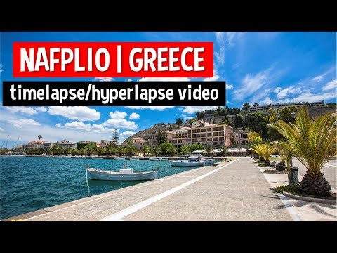 Timelapse NAFPLIO | GREECE - A TRAVEL TOUR - HD 1080P