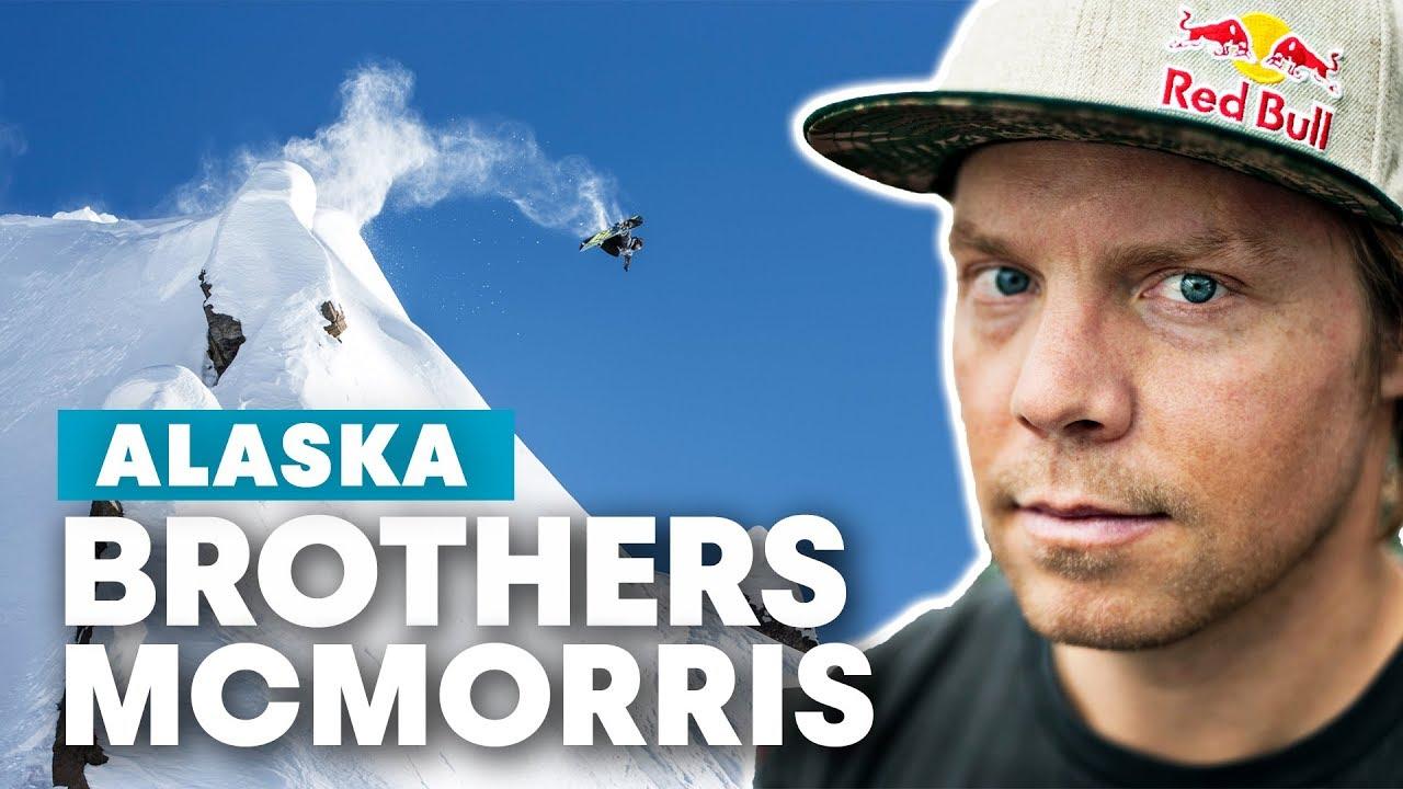 Snowboarding Alaska Lines with Travis Rice, Mark McMorris & Craig McMorris   Brothers McMorris