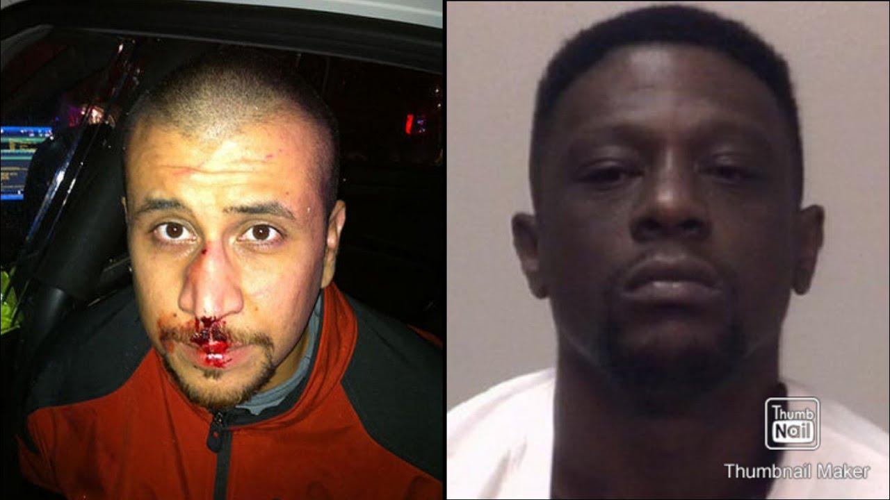 Boosie BadAzz Beats Up George Zimmerman at a Walmart in Miami