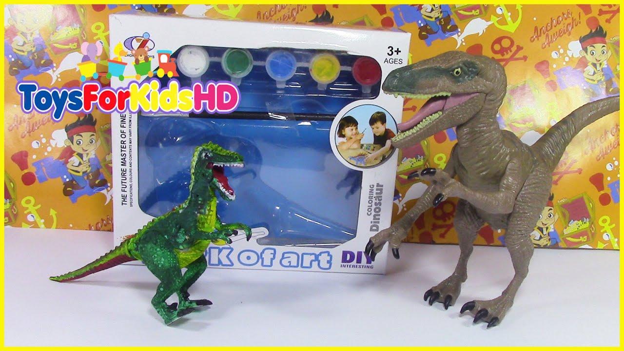 Videos De Dinosaurios Para Niños Juguetes De Dinosaurios Para