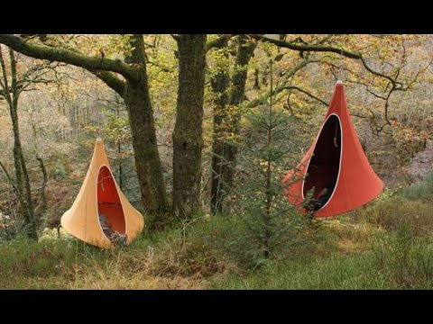 & Cozy Cacoon is part hammock part tree tent all fun - YouTube