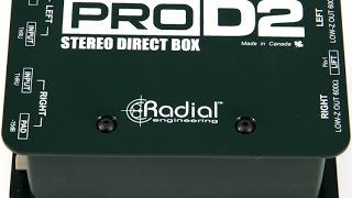 Review: Radial Pro D2 Passive Stereo Direct Box