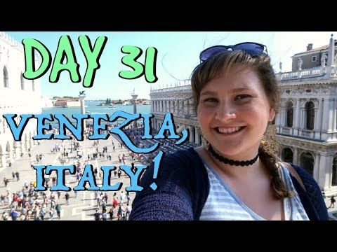 VENICE IS THE MOST BEAUTIFUL & CONFUSING CITY EVER! | EUROPE TRAVEL VLOG | DAY 31