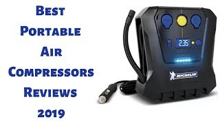 Best Portable Air Compressors Reviews 2019