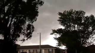 Storm brewing in Grand Island, Nebraska